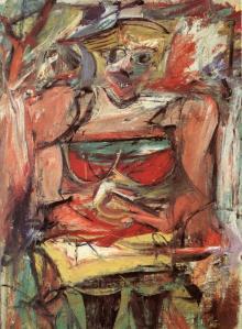 """Wilem de Kooning """"Woman V"""" (1953)"""