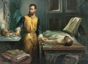 Edouard Hamman. Andreas Vesalius (1848)